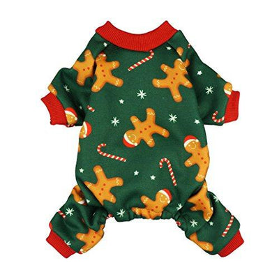 Gingerbread Men Dog Pajamas