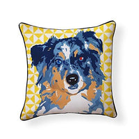 Australian Shepherd Pooch Decor Decorative Pillow