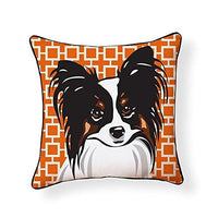 Papillon Pooch Decor Decorative Pillow