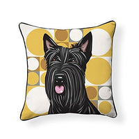 Scottish Terrier Pooch Decor Decorative Pillow