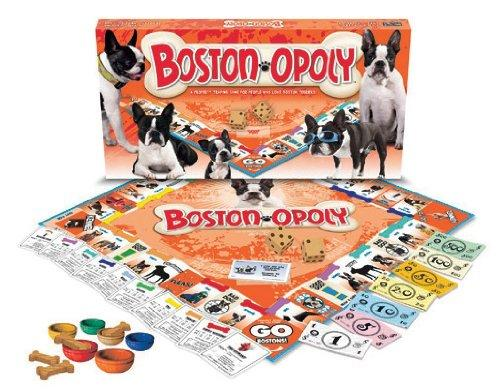 Late for the Sky Boston Terrier-opoly