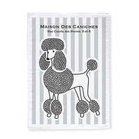 House of Poodles Tea Towels, Set of 2