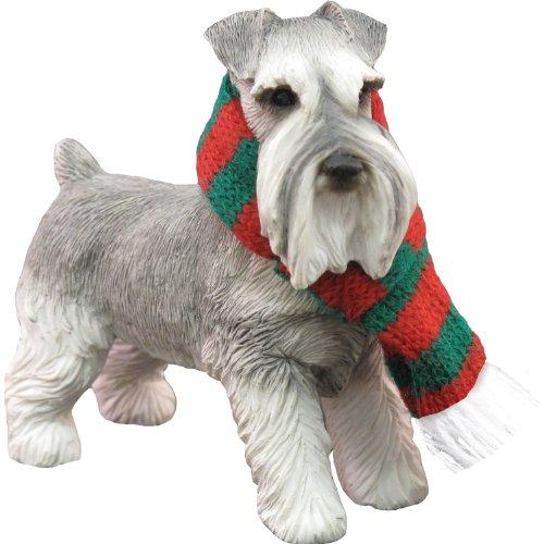 Schnauzer, Salt and Pepper, Ornament
