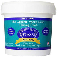 Stewart Freeze Dried Treats 21 oz. Beef Liver