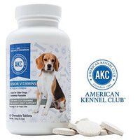 AKC Chewable Senior Dog Multivitamins for Joint Support