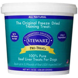 Stewart Freeze Dried Treats 14 oz Beef Liver