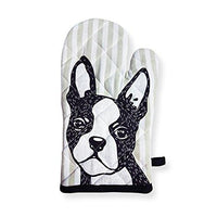 Boston Terrier Oven Mitt