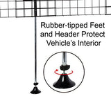 Arf Pets Adjustable Dog Car Wire Barrier