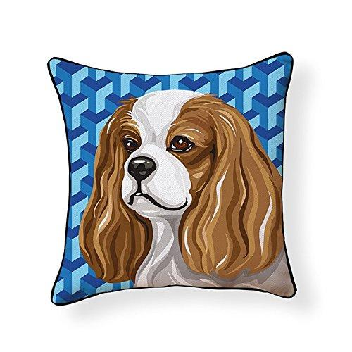Cavalier King Charles Spaniel Pooch Decor Decorative Pillow
