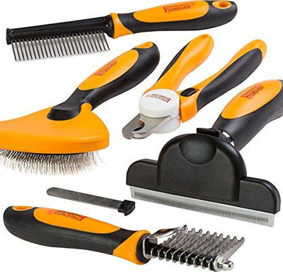 6 in 1 Professional Pet Grooming Kit