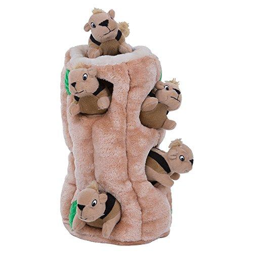 Hide a Squirrel Interactive Puzzle Plush Dog Toy