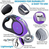 Lightweight, Retractable Dog Leash (16ft)