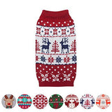 Ugly Christmas Reindeer Pullover Dog Sweater
