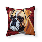 Boxer Pooch Decor Decorative Pillow