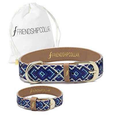 FriendshipCollar Dog Collar and Friendship Bracelet