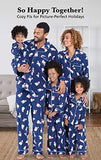 Fleece Polar Bear Matching Pajamas for Humans and Dogs