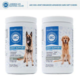 Dog Joint Advanced Supplement Soft Chews with Glucosamine, Chondroitin, MSM, Omega 3, Omega 6 - for Large Breed and Overweight Dogs, Helps with Joint Relief, Pain and Inflammation - Made In The USA