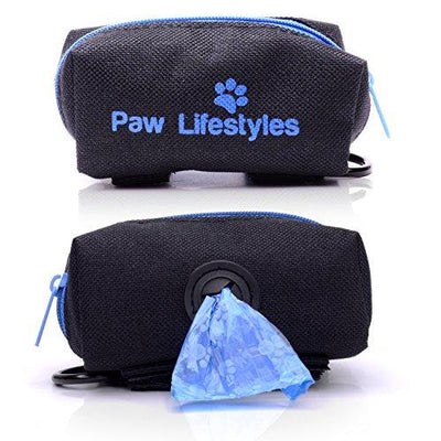 Paw Lifestyles Dog Poop Bag Holder Leash Attachment