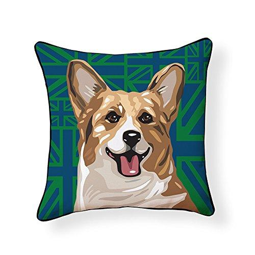 Pembroke Welsh Corgi Pooch Decor Decorative Pillow