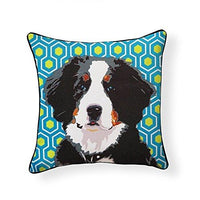Bernese Mountain Dog Pooch Decor Decorative Pillow