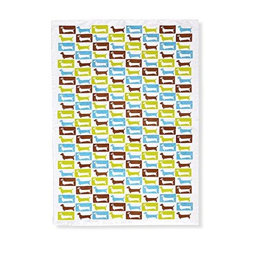 Dachshund Cotton Tea Towels