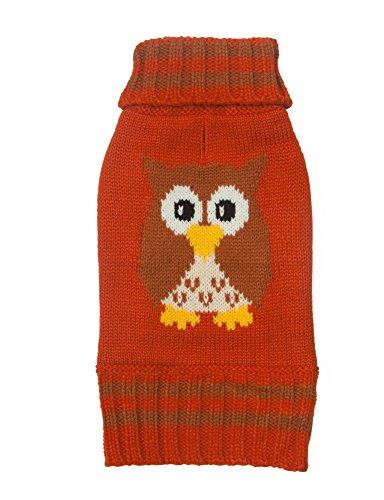 Animal Design Dog Sweater - Owl