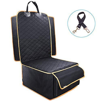 Front Seat Dog Cover with Storage
