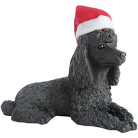 Poodle, Black, Ornament