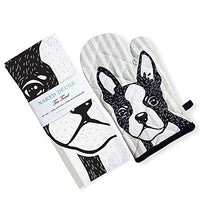 Boston Terrier Kitchen Set
