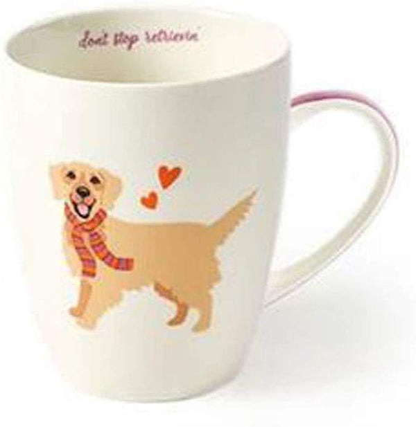 Golden Retriever Mug in Gift Box