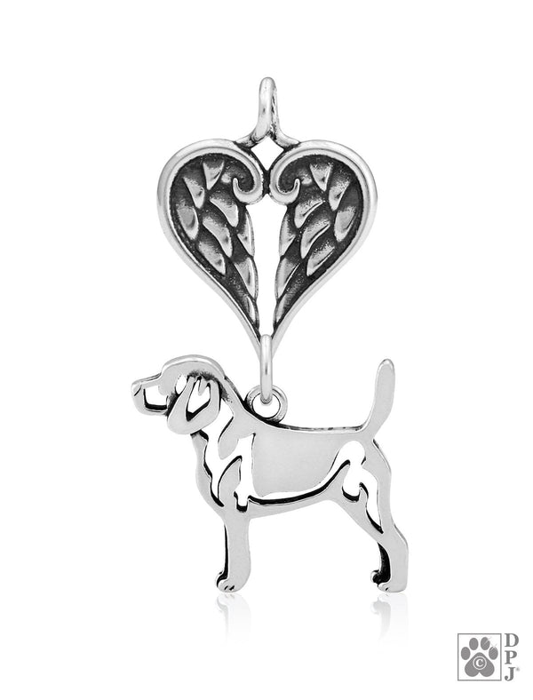 Beagle, Body, with Healing Angels Pendant