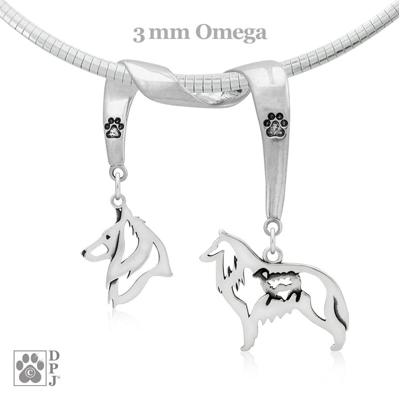 Belgian Sheepdog, Charm Holder, Necklace