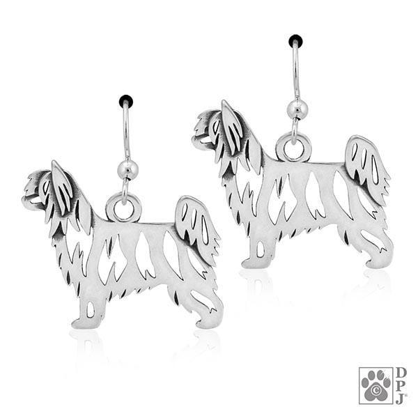 Chinese Crested Powder Puff, Body, Earring
