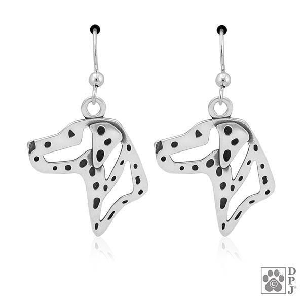 Dalmatian, Head, Earring