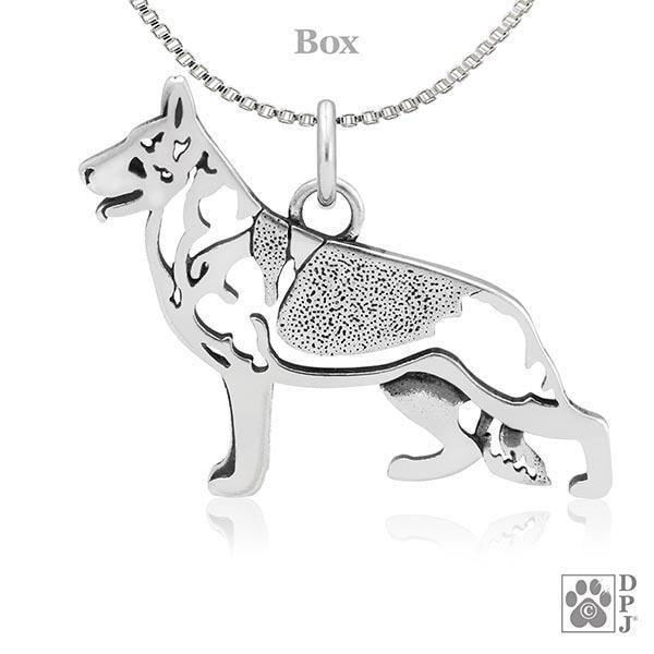 German Shepherd Dog, Body, Pendant