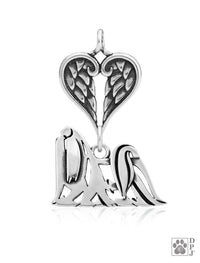 Maltese, Show cut, Body, with Healing Angels Pendant