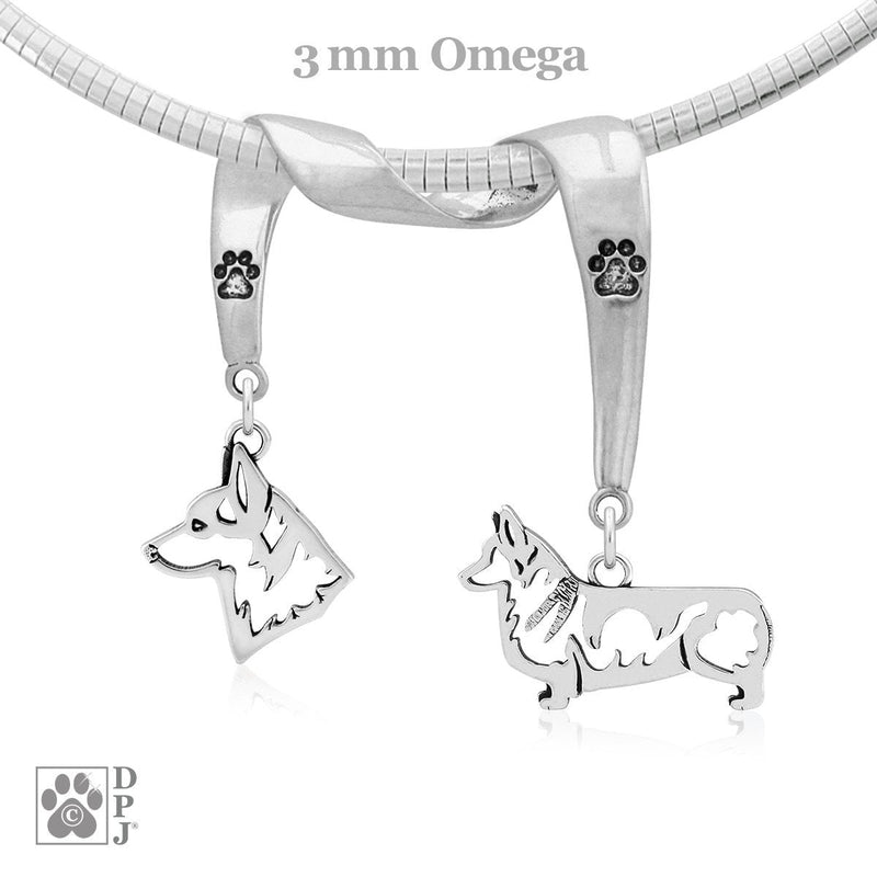 Pembroke Welsh Corgi, Charm Holder, Necklace