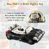 Haute Diggity Dog Furcedes Car Luxury Dog Bed