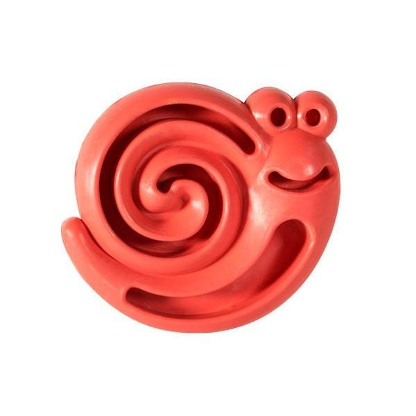 Rubber Snail Puppy Chew & Treat Toy