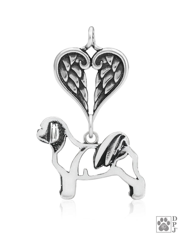 Shih Tzu, Teddy Bear Cut, Body, with Healing Angels Pendant