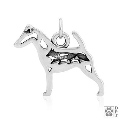 Smooth Fox Terrier w/Fox Body, Pendant