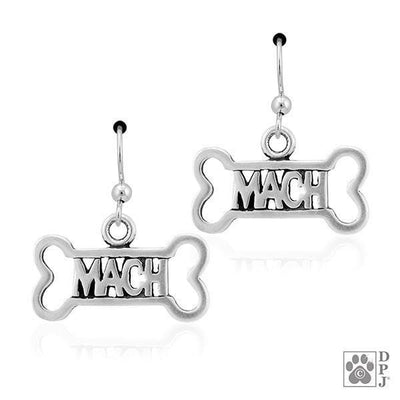 MACH Dog Bone, Earring