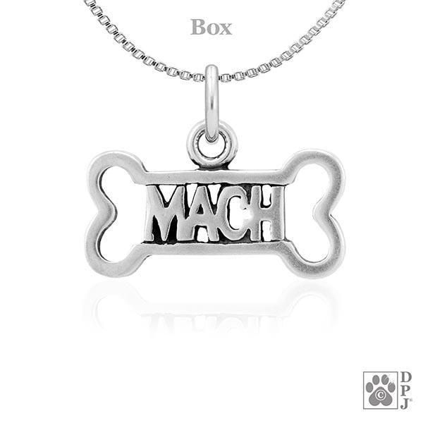 MACH Dog Bone, Pendant