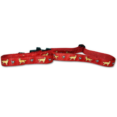 Golden Retriever Collar and Leash Set
