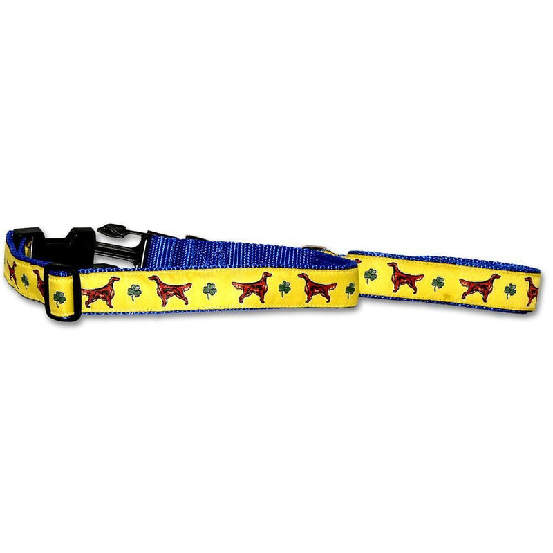 Irish Setter Collar and Leash Set