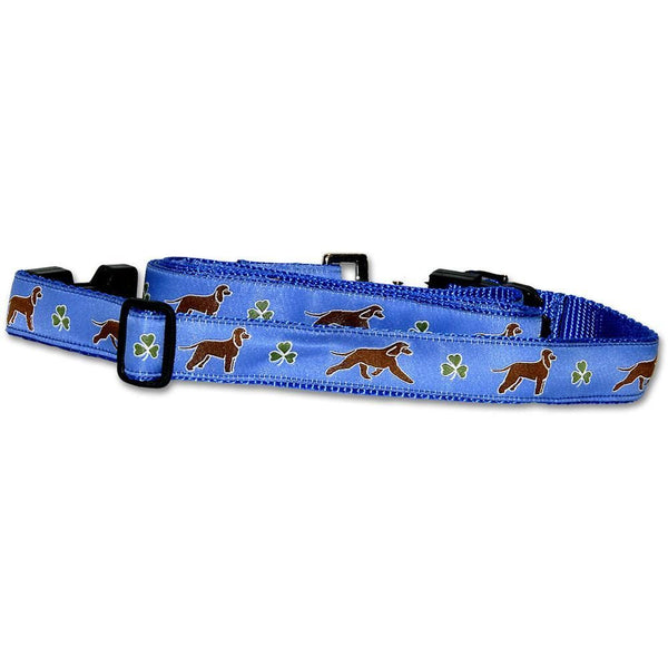 Irish Water Spaniel Collar and Leash Set