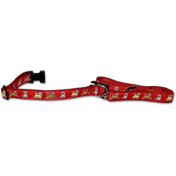 Cairn Terrier Collar and Leash Set