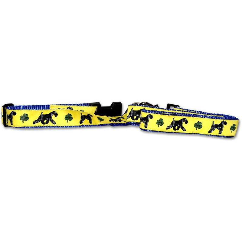 Kerry Blue Terrier Collar and Leash Set