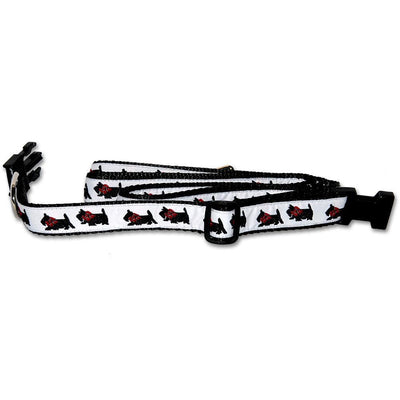 Scottish Terrier Collar and Leash Set
