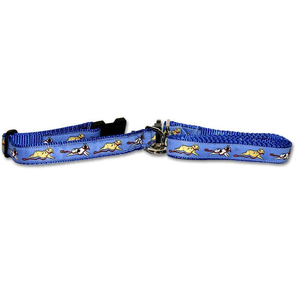 French Bulldog Collar and Leash Set